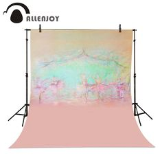 >> Click to Buy << Allenjoy Photography background Stage dancers pink green bokeh backdrops baby newborn props spring background #Affiliate