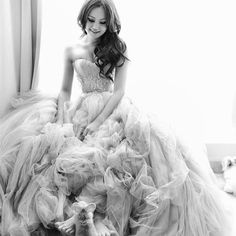 dress...and is it too weird that I want a picture like this with Kitters?