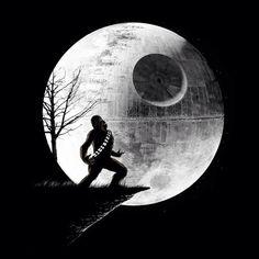 Conmemorando la hermosa luna llena de estas noches... auuuuuuuuuuuurrrghhh!!! (howling Chewbacca style jaaaaa)