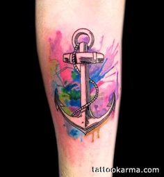 watercolor tattoo - I want this background for my entire nautical themed half sleeve =)