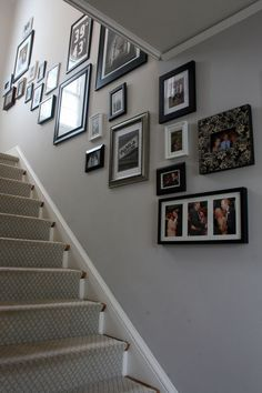 Farrow and Ball Cornforth white hallway