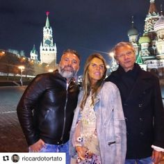 I found this picture of my trip in Moscow with my friends Anna and Angelo. I will be back in Moscow next week. Anna Dello Russo, Winter Collection, Moscow, Leather Pants, Fashion, Leather Jogger Pants, Moda, Fashion Styles, Lederhosen
