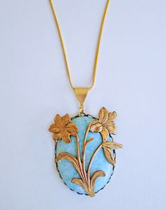 Siddal Amazonite Necklace — Eclectic Eccentricity Vintage Jewellery