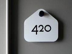 room signs #wayfinding #signage