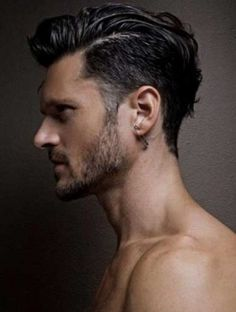 thumbs 1940s hairstyle trends 2014 slicked back hair sides hair style mens haircut Short Hairstyles 2014
