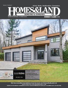 -- Volume 7 Issue 8 -- Homes&Land Demeures & Domaines by Claudette Boiteau et Jean-Sebatioen Boiteau