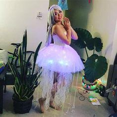 DIY Jellyfish Halloween Costume Idea
