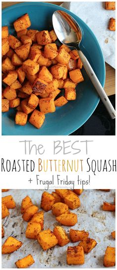The BEST Roasted Butternut Squash + Healthy Eating on a Budget | C it Nutritionally #vegan #fall #winter #thanksgiving