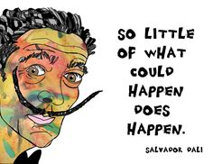 Items similar to Salvador Dali--Quotation Art Print on Etsy Famous Artists, Great Artists, Famous Artist Quotes, Pretty Words, Cool Words, Salvador Dali Quotes, Salvador Dali Tattoo, Eugenia Loli, Amazing Quotes