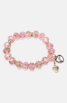 Beaded Charm Stretch Bracelet  http://rstyle.me/n/ebnqppdpe