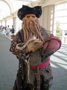 Davy Jones - Piratas do Caribe