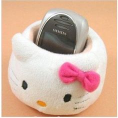 Hellokitty) Fashionable Universal Cell Phone / MP3 MP4 / Electronics / Card Holder