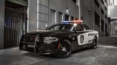 The Dodge Charger Pursuit is beloved by police forces all over America. It comes with either an effi... - FCA