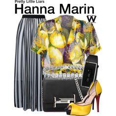 Inspired by Ashley Benson as Hanna Marin on Pretty Little Liars