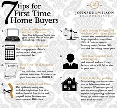 7 Tips for First Time Home Buyers. For more information about the Home Buyer Fair, a free bilingual educational event that promotes homeownership among all income levels interested in the home buying process, visit - Another! Real Estate Career, Real Estate Business, Real Estate Tips, Real Estate Investing, Real Estate Marketing, Event Marketing, Marketing Ideas, Home Buying Checklist, Home Buying Tips
