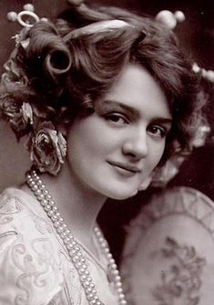 Lily Elsie, the Most Photographed Actress in the Edwardian Era