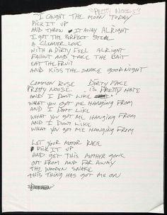 Pretty Noose lyrics