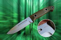 """""""Cascadia"""" Bushcrafter    Sibert Knives"""