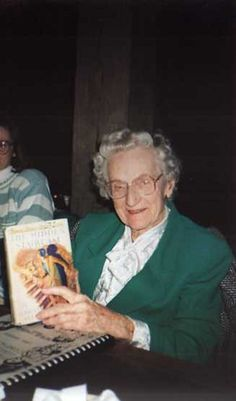 Mildred Wirt Benson, author of the original Nancy Drew books.