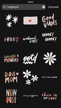 Gifs Stories – tangerine – My Carol's Big World! Snapchat Instagram, Instagram Hacks, Instagram Editing Apps, Instagram Emoji, Instagram Blog, Instagram Quotes, Ideas De Instagram Story, Creative Instagram Stories, Snapchat Stickers