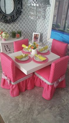 My DIY AG doll dining set