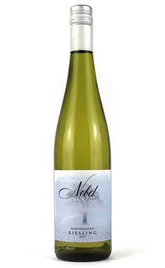 NEBEL RIESLING 2013Rheinhessen, GermanyLEMON LIME GREEN APPLE PINEAPPLE FLORAL A crisp, refreshing German Riesling with a splash of exotic tropical fruit flavor. Enjoy the aroma of ripe fruit, flowers, and honey bursting from the bottle. Pair with shellfish or asian dishes like pad thai or stir fry.
