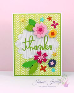 Paper Smooches Sparks - Floral Thanks