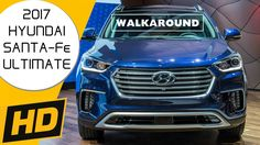 2017 Hyundai Santa-Fe Limited Ultimate In-Depth Walkaround - Interior / Exterior / Trunk / Engine