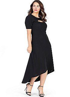 Anna Scholz Cut-Out Jersey Dress