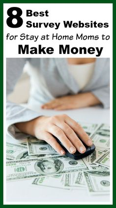 Whether you're a stay-at-home-mom or full-time employee, free survey websites can be an easy way to make extra money from home! Side hustles, frugal living, ways to make extra money from home