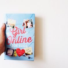 Finally got my own copy of Girl Online! So proud of Zoe Sugg on her first book
