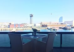 Un rincon lleno de paz. ☀️ #barcelona #catalunya #mirandoalmar #maremagnum #viernes #terraza #maremagnum #restaurant