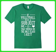 Mens If Volleyball Was A Subject T Shirt Volleyball Sports Medium Kelly Green - Sports shirts (*Amazon Partner-Link)