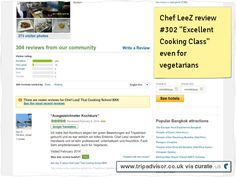 "Chef LeeZ cooking school review #302 ""Excellent Cooking Class"" even for vegetarians Clipped from www.tripadvisor.co.uk"