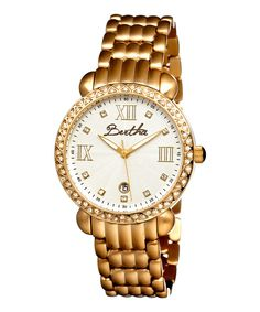 Take a look at this Gold Ruth Watch on zulily today!