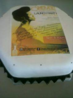 Shayaa launch party cake