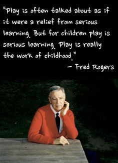 Mr. Rogers. Need I say more?