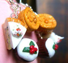 christmas food earrings #HolidayPantryEssentials