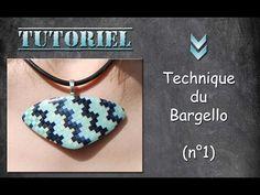 Tuto fimo/polymère technique du Bargello n°1 (participation exceptionnelle de Lulu) - YouTube