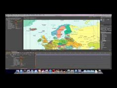 Indiana Jones Scrolling Map After Effects Tutorial-Part 1 After Effect Tutorial, After Effects Projects, Indiana Jones, Visual Effects, Motion Graphics, Videography, Map, Adobe, Youtube