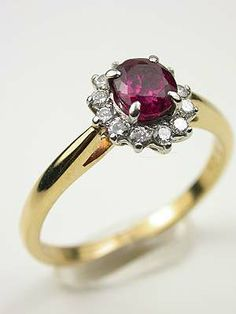 Ruby and Diamond Vintage Ring by Tiffany & Co., RG-3532 I'M IN LOVE WITH THIS RING!!!