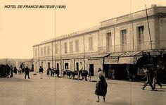 Hotel de France - Mateur 1930 - ماطر - ويكيبيديا، الموسوعة الحرة