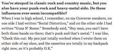 Ryan Adams is just so f*cking cool...