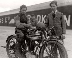 """Albert """"Bert"""" Denly / Norton model 18 / Brooklands 06/04/1925"""