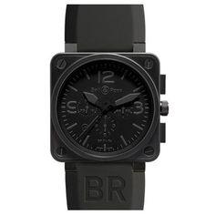 Bell & Ross chronograph watch