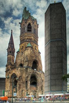 Blue Church, Berlin.  Our tips for things to do in Berlin: http://www.europealacarte.co.uk/blog/2010/10/11/things-to-do-in-berlin/.