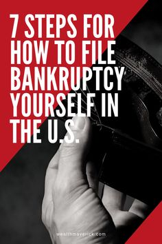 7 Steps For How to File Bankruptcy Yourself in the U. Retirement Savings Plan, Saving For Retirement, Retirement Planning, Budgeting Worksheets, Budgeting Tips, Wholesale Real Estate, Grants For College, Credit Repair Services, Thing 1
