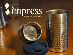 Bought this... Can't wait to up my coffee snob game at work. Prepare to be jealous | Impress Coffee Brewer by Gamila