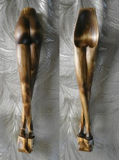 Ladel, wood spoon, carved like long legs. Wooden Spoon Carving, Carved Spoons, Wood Carving Art, Wood Spoon, Bone Carving, Whittling Projects, Whittling Wood, Wood Shop Projects, Carved Wood Signs