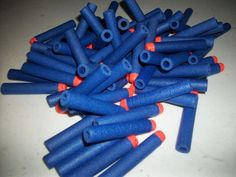 Reshaping your spent Nerf darts, don't buy more, recover the old ones.